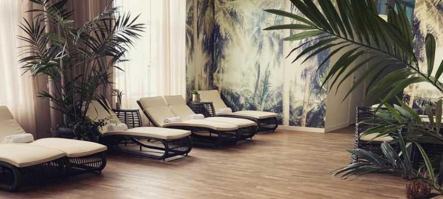 Nyt et avslappende opphold på Sunlight Hotel, Conference & Spa.