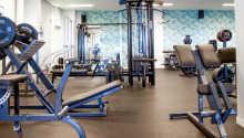 Hotellet kan skryte av å ha Sveriges største hotelrelaterede fitnesscenter.
