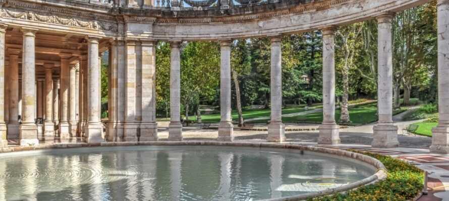Dette 4-stjernede hotel ligger i hjertet af den toscanske kurby Montecatini Terme.