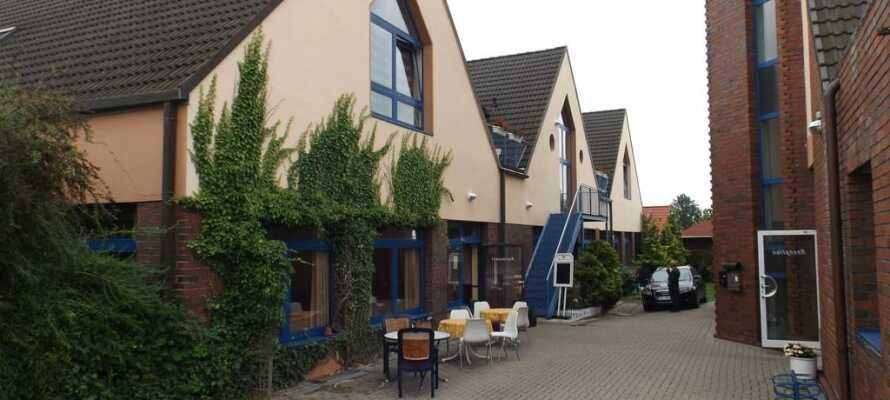 Hotel Schweriner Tor är ett trevligt och familjevänligt hotell nära Schwerin