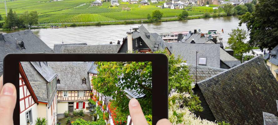 Den herlige vinregion omkring Mosel-floden, byder ikke bare på skøn natur, men også mange spændende og idylliske steder og byer.