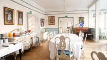 Den vackra matsalen där ni äter gott