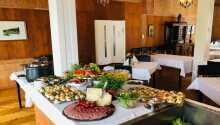 Hotellet har i många år varit känt för sin goda mat