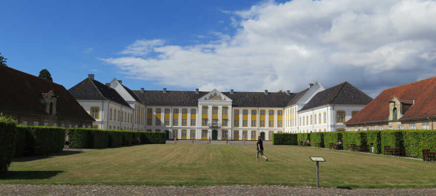 Das Schloss Augustenborg in Als ist ein Erlebnis für die ganze Familie.