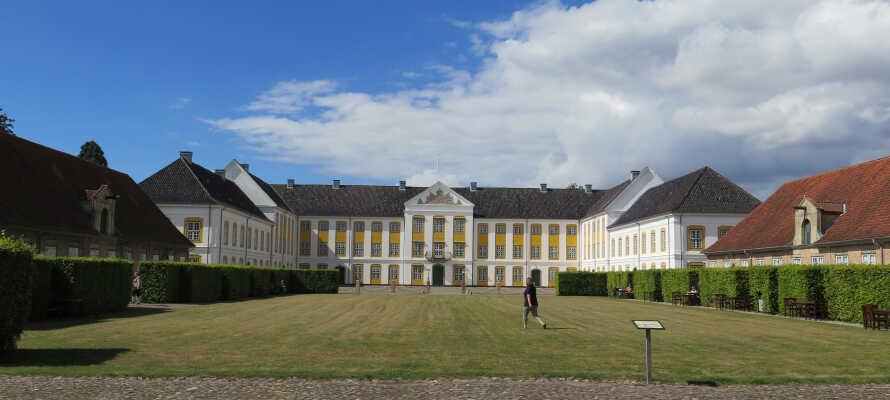 Augustenborg slott på Als är ett spännande utflyktsmål för hela familjen