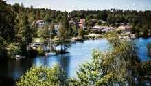 Das Hotel Bengtsfors genießt eine wunderschöne Lage zwischen dem See Lelångsøen und dem Dalslandkanal.