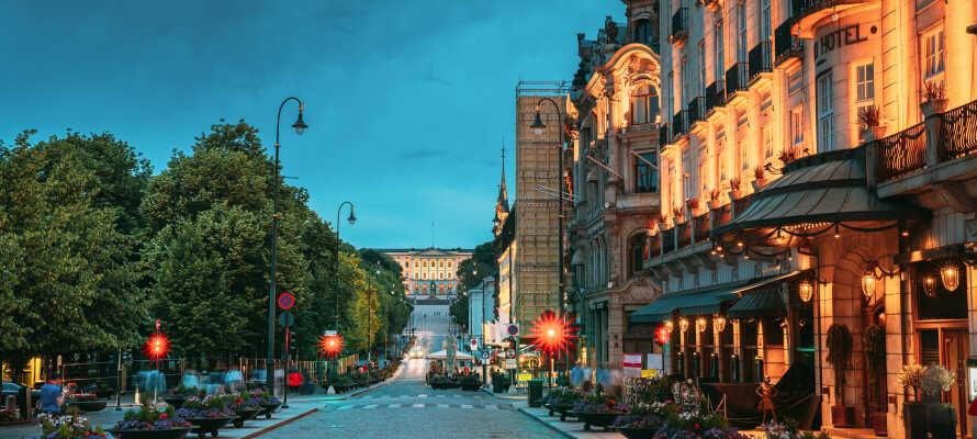 First Hotel Millenium har en yderst central beliggenhed i Oslo, både for shopping og sightseeing.