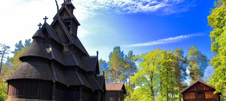 Besøg museerne på Bygdøy, hvor I bl.a. finder Kon-Tiki Museet, Norsk Folkemuseum og det berømte Vikingeskibsmuseum.
