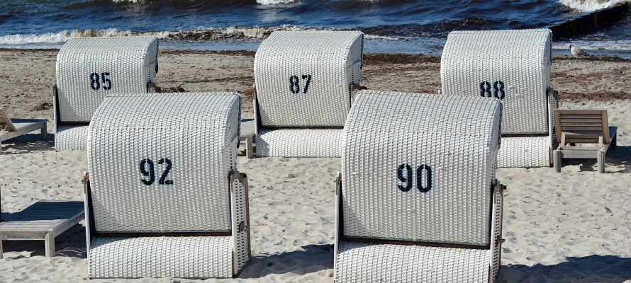 Heiligendamm har skønne strande og god mulighed for at nyde både havet og solen.