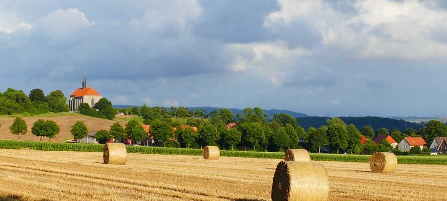 Hier haben SIe einen guten Ausgangspunkt für einen Wanderurlaub oder Aktivurlaub mit dem Rad in der Natur Mecklenburg-Vorpommerns.