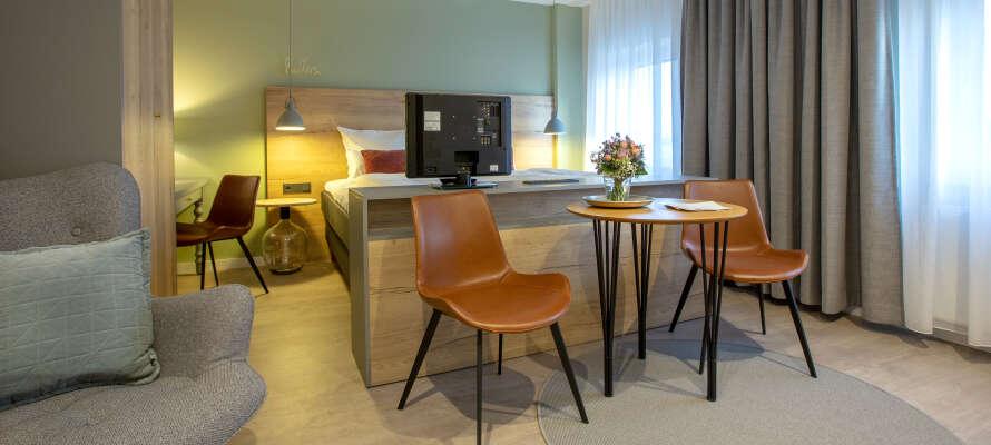 Weinbek er et lille hyggeligt hotel i Nordtyskland, med nye komfortable værelser.