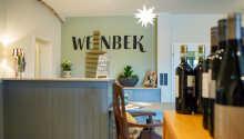 Weinbek Hotel byder på velkommen til et herligt ophold på Tysklands nordligste vinhotel.