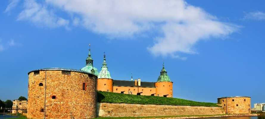 Besøg byens helt store vartegn, det imponerende og velbevarede renæssanceslot, mindre end 2 km. fra hotellet!
