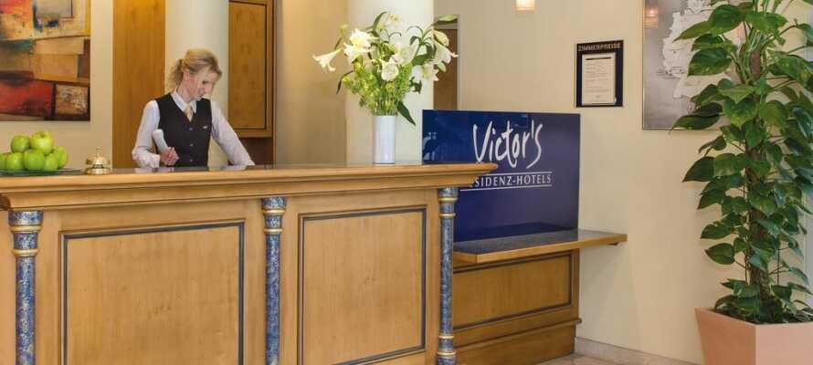 Victor-hotelkæden er kendt for sin høje kvalitet og professionelle service, og tilbyder stilfulde og behagelige rammer for opholdet.