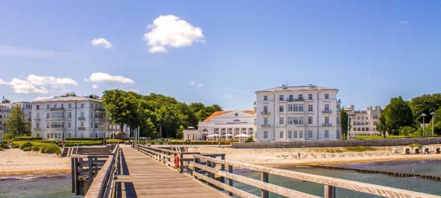 Heiligdamm er en skøn lille by ved kysten. Her kan I skimte Danmark, gå ture og bade om sommeren.