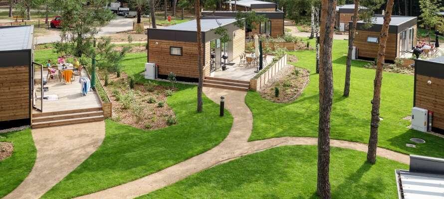 Bo i moderne Woddland hjem, som ligger i et flott naturområde, og kan romme opptil fire personer.