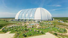 Innredet i verdens største frittstående hall, venter mer enn 100.000 m² spekket med opplevelser og attraksjoner.
