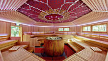 Dere har fri tilgang til det herlige spa- og badstueområdet på 10.000 m².