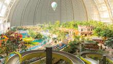 Skap unike ferieminner i verdens største innendørs badeland.