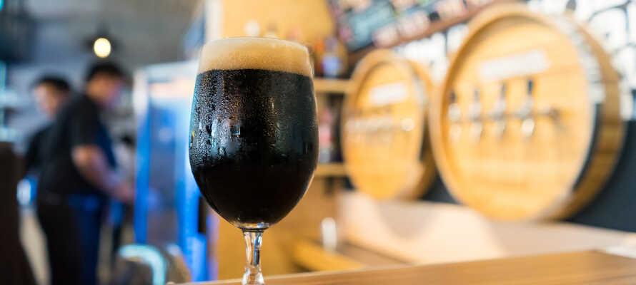 Bad Köstritz er kjent for sitt bryggeri og den mørke ølen