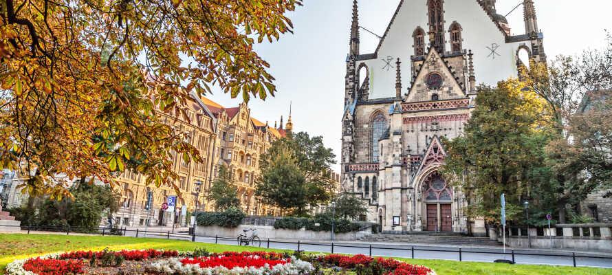 Besök den trevliga staden Leipzig som är full med kultur, historia och shopping.