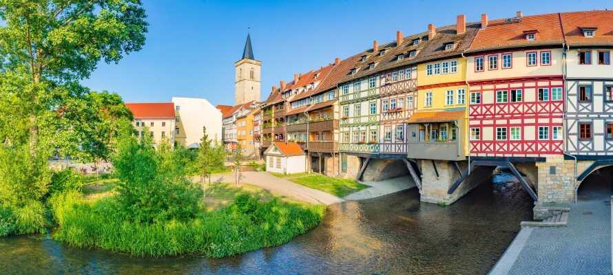 Erfurt er en rigtig hyggelig by, som absolut er værd at køre efter.