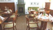 Das Frühstück wird im Restaurant Löwe serviert.