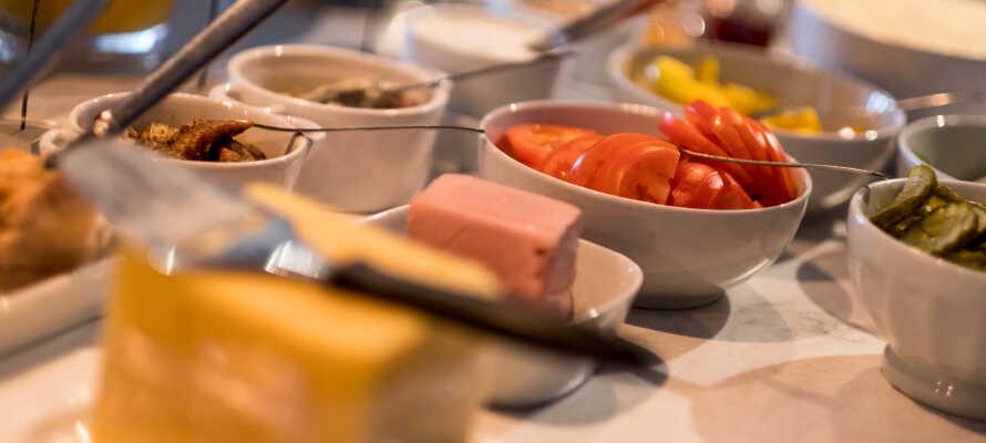 På BW Hotell Hudik startar varje morgon med en god frukost i hotellets frukostmatsal.
