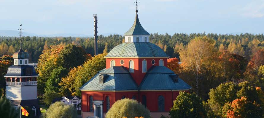 In Söderhamn gibt es viele Sehenswürdigkeiten wie die Ulrika Eleonora-Kirche, das Flugzeugmuseum, Ausgrabungen und historische Funde im Faxeholm