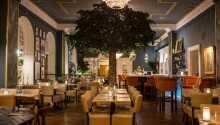Restaurant Lilla P byder på gode aftenmåltider i en hyggelige atmosfære.