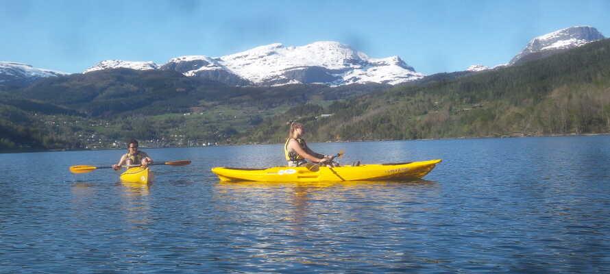 Få alletiders udgangspunkt for naturoplevelser og aktiviteter i Norge!