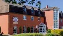Velkommen til Hotel Apfelblüte som ligger lige syd for UNESCO-byen, Stralsund.