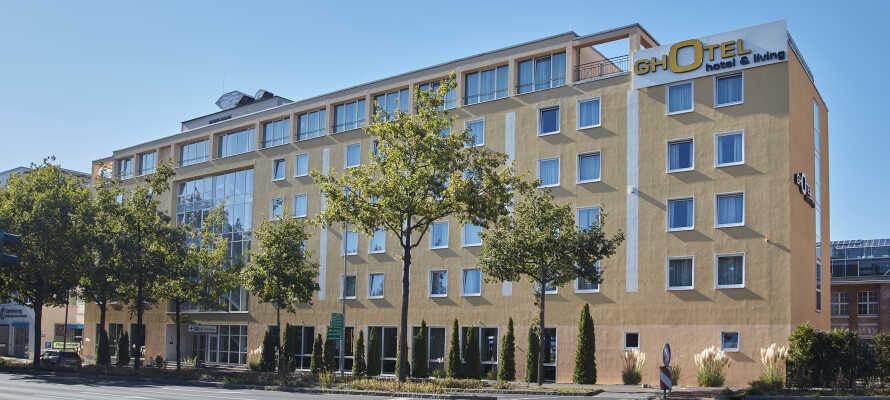 Das Hotel bietet eine gemütliche und komfortable Umgebung und eine hervorragende Lage nahe des Zentrums von Göttingen.