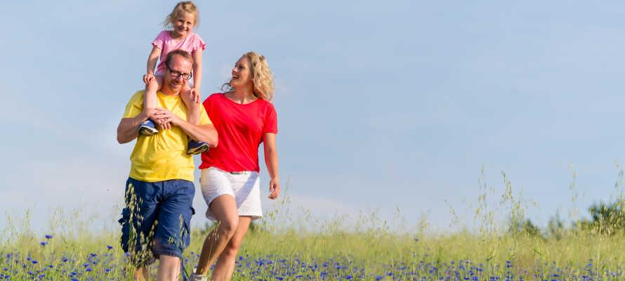 Det finns möjlighet till både en och två extrabäddar i hotellrummen - perfekt för en familjesemester.
