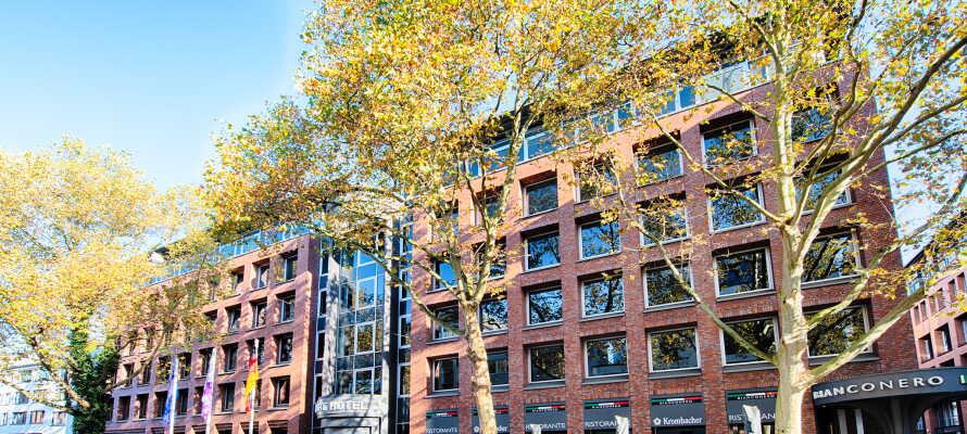 Tag på storbyferie i Bremen, og bo på ACHAT Hotel Bremen City, som giver jer en yderst central placering.