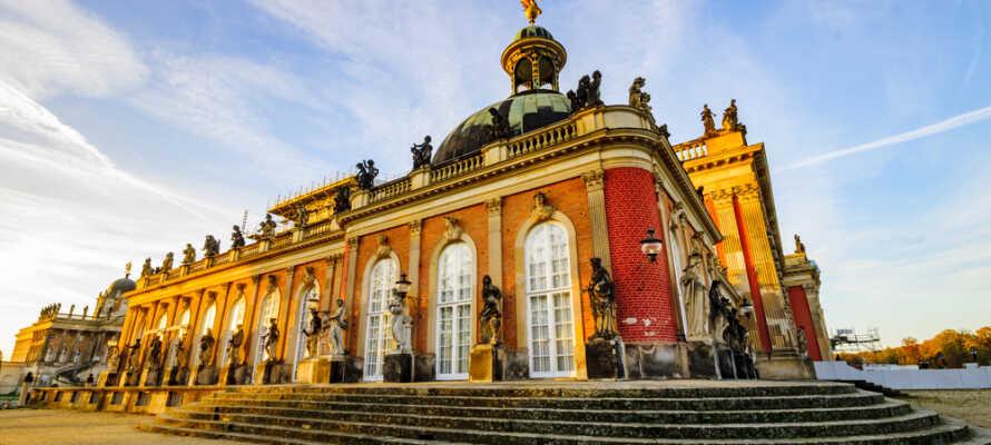 Dessau-Wörlitz kulturlandskap är ett stort parkområde mellan Dessau-Rosslau och Wittenberg med massor av vackra byggnader.