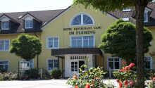 Det 3-stjernede Ferien Hotel Fläming ligger midt i naturen.