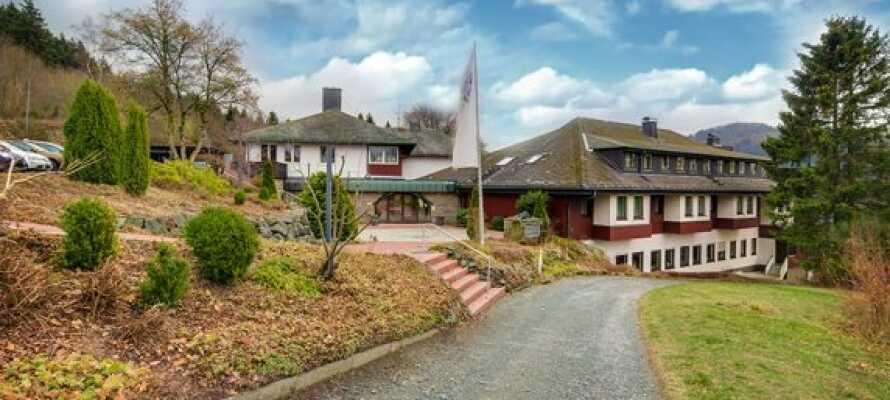 Panorama Berghotel Winterberg er et familievennlig hotell og i fjellene Nordvest-Tyskland.