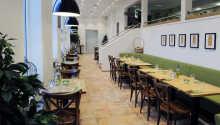 Genießen Sie ein gutes Abendessen in der Trattoria des Hotels.