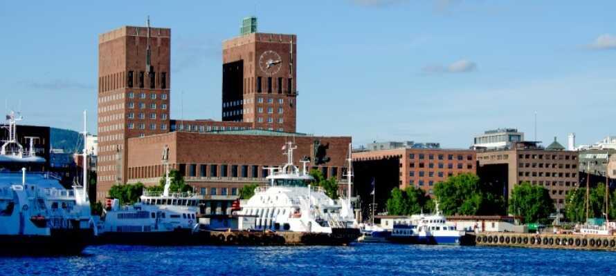 Bo centralt på Cochs Pensjonat og i gåafstand til alt hvad Oslo har at byde på.
