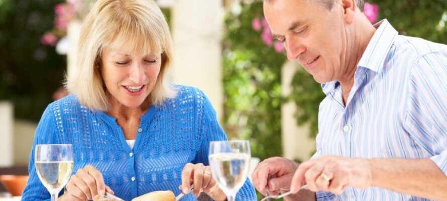 Cochs Pensjonat är beläget i ett fint område med närhet till flera trevliga restauranger.