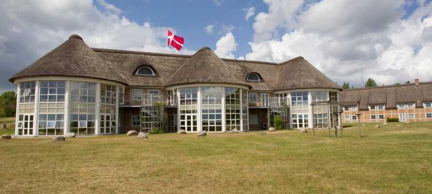 Dette 4-stjernede hotel ligger placeret blandt skove og søer i det smukke sjællandske landskab ved Sorø.