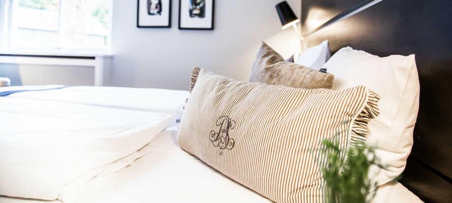 For at sikre den bedste nattesøvn, tilbydes et bredt udvalg af lækre natur-, skum- og fiberpuder.
