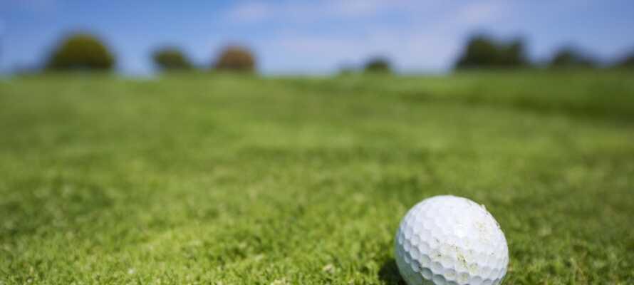 Med adskillige golfbaner lige i nærheden er der rig mulighed for, at få luftet udstyret under opholdet på Comwell Sorø.