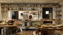 I hotellets restaurant er den gode smag og kærlighed til maden i fokus