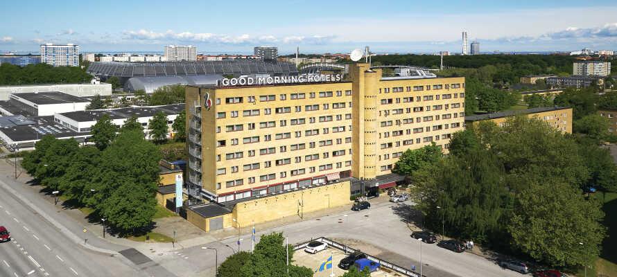 Das Hotel bietet eine komfortable Umgebung für einen Urlaub mit kurzen Wegen zu allem, was Malmö zu bieten hat.