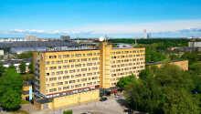 Das Hotel bietet eine moderne, komfortable Umgebung für einen Aufenthalt in Malmö.