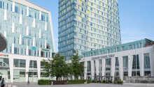 Hotellet är ett konferenshotell med välplanerade och stilrena faciliteter.
