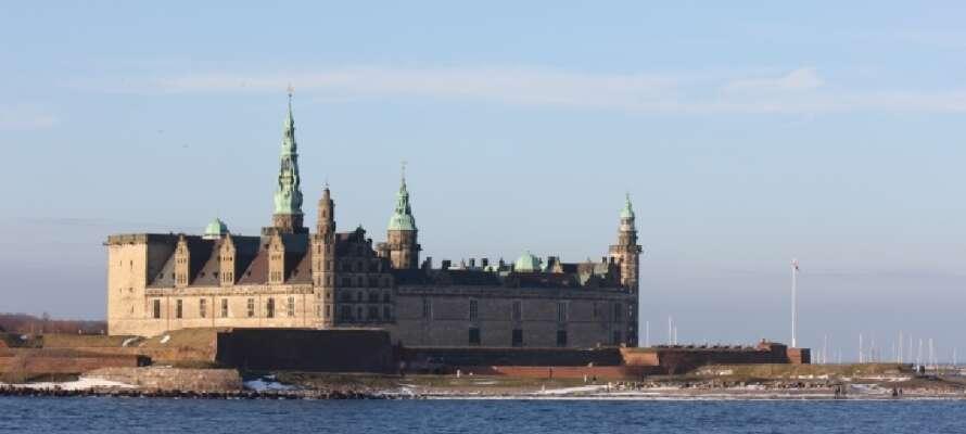 Besøk en av de mest kjente severdighetene i det nordlige Sjælland – Kronborg stråler alltid