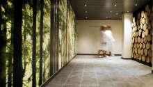 De flotte dobbeltrommene tilbyr et høyt komfortnivå med eget bad og behagelige senger